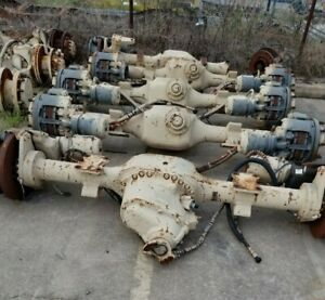 Axle Tech 4000 thru shaft or Tandem wide low gear dif lock disc brake planetary