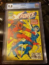 X-Force 11 * CGC 9.8 ! * 1st Appearance Real Domino ! 9.8 Key Issue !