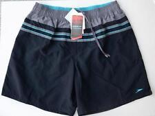 Speedo Quick Dry Mens Swim Trunks Board Shorts Swimsuit Chlorine Resistant Black
