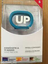 NEW JAWBONE UP 2ND GEN BLUE SMALL FITNESS TRACKING WRISTBAND IPHONE/ANDROID/IPAD