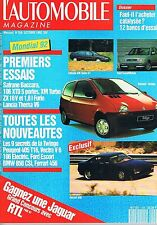 L'automobile Magazine   N°556   oct 1992 : Safrane baccara