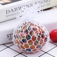 Squishy mesh balls monocolore e multicolor pallina giocattolo antistress