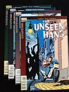 THE UNSEEN HAND #1-4 (1996) Vertigo DC Comics VF/NM