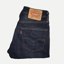 Levis 508™ 28W 32L Mens Jeans Slim Fit Dark Wash Blue Denim ENGINEERED