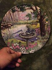 A Morning Splash Knowles Plate 1993 Birds