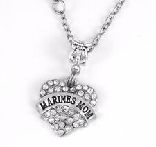 Marines Mom Necklace Marines Mom Gift chain Marines Mom Present Marines Pendent