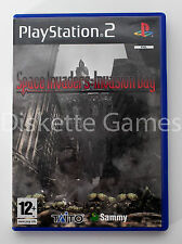 SPACE INVADERS INVASION DAY - PLAYSTATION 2 PS2 PLAY STATION 2 - PAL