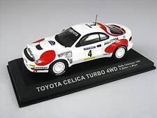Pour TOYOTA CELICA TURBO 4WD SAINZ rallye catalunya 1992 del prado CR106 1:43 NEW
