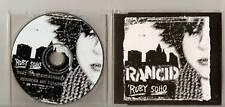 RANCID Ruby Soho 3 track promo MAXI CD Holland