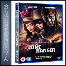 THE LONE RANGER - Johnny Depp & Armie Hammer **BRAND NEW DVD **