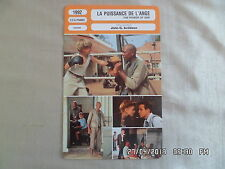 CARTE FICHE CINEMA 1992 LA PUISSANCE DE L'ANGE Stephen Dorff Morgan Freeman