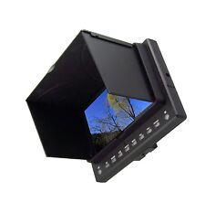 "3GHD-SDI  7"" Video Camera Monitor with HDMI, SDI,YPbPr, AV Input  For BMCC 5D2"