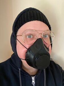 Air Purifying Face Shield Mouth And Nose Mask 3D Printed In Stock Ship Now