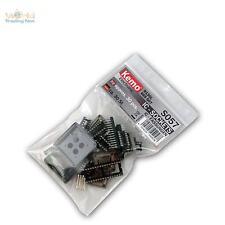Sortiment IC-Fassungen ca. 30 Stück, Fassung ICs, Sockets Sortimente Kemo Sockel
