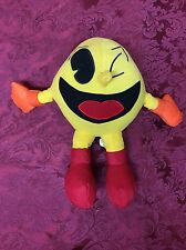 Vintage 25th Anniversary PAC-MAN 80's Video Game Stuffed Plush Doll SHIPS TODAY!