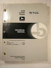 JOHN DEERE 244E LOADER TECHNICAL MANUAL REPAIR TM1503 1994