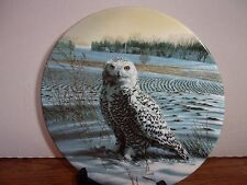 The Snowy Owl - Collectable, Decorator Plate by Jim Beaudoin
