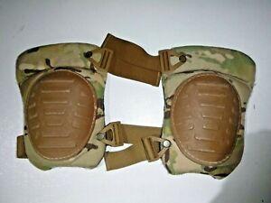US Military McGuire Nicholas OCP Multicam Knee Pads Set VERY GOOD USED CONDITION