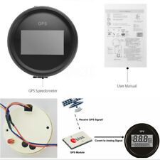 52mm Round 0-999 Knot Car SUV Digital GPS Speedometer MPH kmh 7-Color Backlight