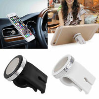Car Air Vent Black Magnetic Phone Holder Mount Stand New For Cellphone Universal