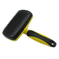 Pecute Grooming Slicker Brush Self Cleaning Dog and Cat Brush For Pet's Long