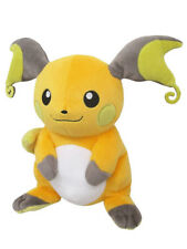 "1x New Sanei Pokemon Sun & Moon All Star (PP79) Raichu 7"" Stuffed Plush Doll Toy"