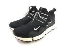 Nike Pocketknife DM Black Vast Grey Sail White Sneaker Shoes 898033-005 Mens 10