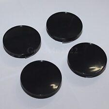 4PCS No Logo 54MM Black Car Wheel Center Rim Hub Caps Emblem For Mini Cooper