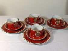 12 piece Set of Fitz and Floyd Dinnerware Medallion d'Or pattern