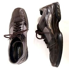 Rockport I Travel Men's Sneaker Casual Lace Up Walking Shoe Size 10 Brown