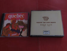 2 x CD Ween-paintin 'the town Brown-Ween Live 90-98 DCD/quebec Elektra