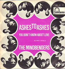 "MINDBENDERS – Ashes To Ashes (1966 VINYL SINGLE 7"" 45 DUTCH PS)"