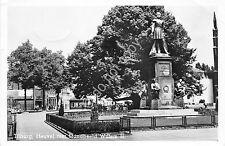 Cartolina - Postcard - Tilburg - Heuvel met Standbeed Willem II - 1952