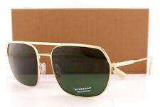 Brand New Burberry Sunglasses BE 3117 1052/71 Gold/Green For Men