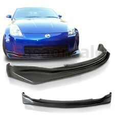Fit for 03 04 05 Nissan 350Z Z33 N1 Type Front Bumper Lip Polyurethane