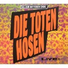 DIE TOTEN HOSEN - BIS ZUM BITTEREN ENDE-LIVE! CD NEU