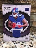 2018 SAQUON BARKLEY RC Panini Football Knights of the Round Jersey Patch GIANTS