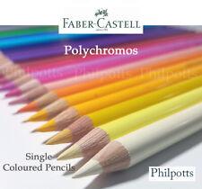 Faber Castell Polychromos Coloured Pencil, Artist, full range available FREEPOST