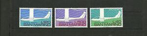 San Marino 1974 50th anniversary of gliding in Italy PA MNH italia