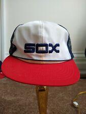 Vintage Chicago White Sox McDonalds 1984 Trucker Snapback Hat Cap Mlb Baseball