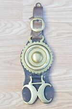Antique Horse Brasses On Leather Strap
