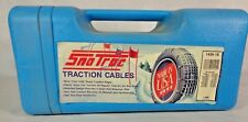 """Peerless Sno Trac Traction Cables Snow Tire Chains Fits Tire Size 13"""" - 14"""" NOS"""