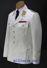 WW2 Repro German Luftwaffe Officer White Cotton Tunic All Sizes
