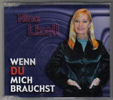 NINA LIZELL - WENN DU MICH BRAUCHST & WENN DU MICH BRAUCHST (KARAOKE) & DU BIST