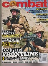 COMBAT AND SURVIVAL MAGAZINE MARCH 2012, SPECIAL OPERATION-FIREARMS-ELITE UNITS.