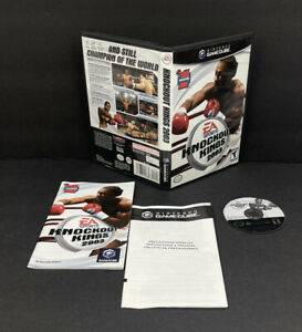 EA Sports Knockout Kings 2003 Nintendo Gamecube Complete Tested