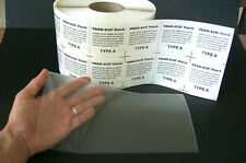 """INFLATABLE BOAT REPAIR PATCH 6"""" x12"""" Zodiac Tender Raft Dinghy  Tear Aid Type A"""