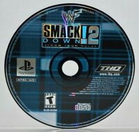 WWF SmackDown 2: Know Your Role (Sony PlayStation 1, 2000) PS1 PSOne PSX PS2 WWE