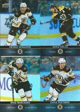 2019-20 Upper Deck Tim Hortons Team Set Boston Bruins BERGERON PASTRNACK & More