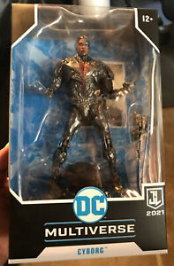 DC Multiverse Justice League Cyborg Sealed McFarlane Toys Zack Snyder IN HAND